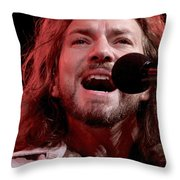 Pearl Jam Throw Pillow