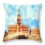 Pearl Of Renaissance Throw Pillow