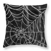 Pearl Web Throw Pillow