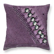 Pearls And More Pearls Throw Pillow