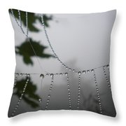 Pearls From Heaven Throw Pillow