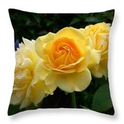 Pearls Of Dew Throw Pillow