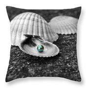 Pearls Of Wisdom I Throw Pillow