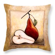 Pears Diptych Part Two Throw Pillow