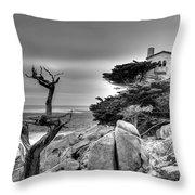 Pebble Beach 2 Throw Pillow