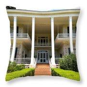 Pebble Hill Plantation  Throw Pillow