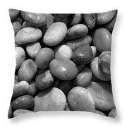 Pebbles Chesil Uk  Throw Pillow