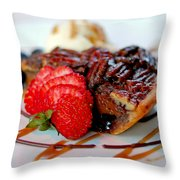 Pecan Pie Throw Pillow