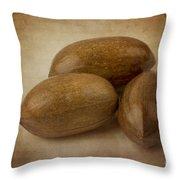 Pecans. Throw Pillow