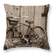 Pedals And Petals Throw Pillow