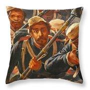 Pedro Americo Self Protriat Throw Pillow