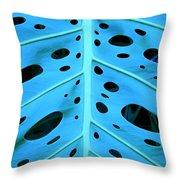 Peek-a-boo Leaf Throw Pillow