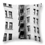 Peeking In Or Looking Out Throw Pillow