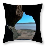 Peeking Through Throw Pillow