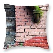 Peer Street Throw Pillow