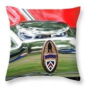 Peerless Radiator Emblem Throw Pillow
