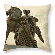 Pegasus Two Throw Pillow