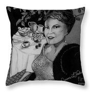 Peggy Lee Throw Pillow