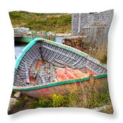 Peggy's Cove 11 Throw Pillow