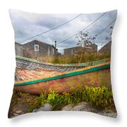 Peggy's Cove 14 Throw Pillow