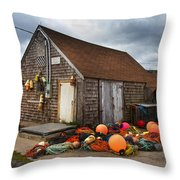 Peggy's Cove 15 Throw Pillow