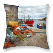 Peggy's Cove 17 Throw Pillow