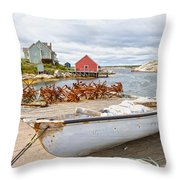 Peggy's Cove 4 Throw Pillow