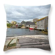 Peggy's Cove 9 Throw Pillow