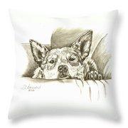 Pegilicious Throw Pillow