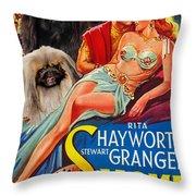 Pekingese Art - Salome Movie Poster Throw Pillow