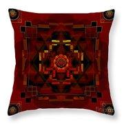 Pele Goddess Of Fire 2013 Throw Pillow