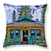 Pele's Lanai Island Hawaii Throw Pillow