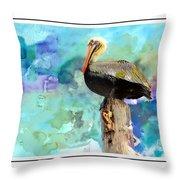 Pelican Colours Throw Pillow