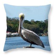 Pelican Point Throw Pillow