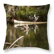 Pelican Temper Throw Pillow