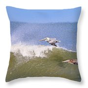 Pelicans 3868 Throw Pillow