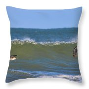 Pelicans 3967 Throw Pillow