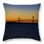Pell Bridge Throw Pillow