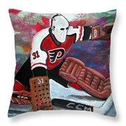 Pelle Lindbergh Throw Pillow