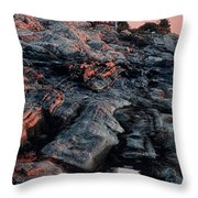 Pemaquid In Early Morning Light Throw Pillow