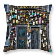 Pemaquid Lobster Shack Throw Pillow