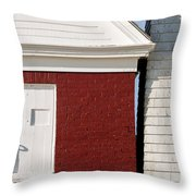 Pemaquid Point Bell House Throw Pillow