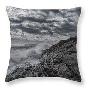 Pemaquid Seas Throw Pillow