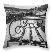 Pembroke Bench  Throw Pillow