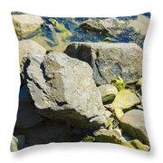 Pembroke Rock Throw Pillow