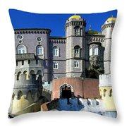Pena National Palace Throw Pillow
