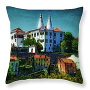 Pena National Palace - Sintra Throw Pillow