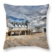 Penarth Pier 5 Throw Pillow