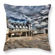 Penarth Pier 6 Throw Pillow