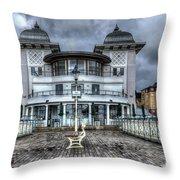 Penarth Pier Pavilion 2 Throw Pillow